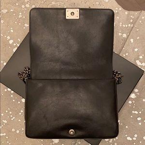 CHANEL Bags - Dark Green Chanel boy bag